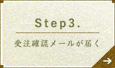 Step3. 受注確認メールが届く