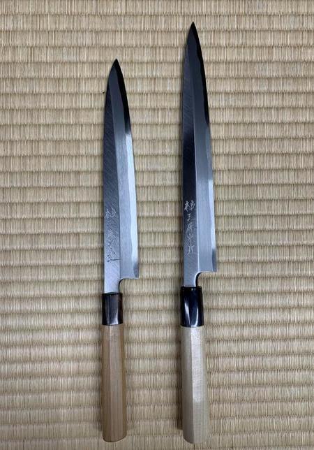 刺身包丁 柳刃 八寸