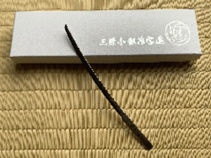 太刀型 菓子切 鶴丸国永