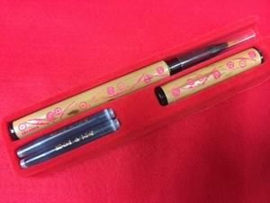 オリジナル筆ペン マルチ刀柄 ピンク色