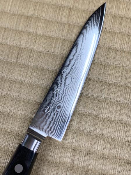 【数量限定】 ダマスカス 積層33層鋼 ペティナイフ 12.0